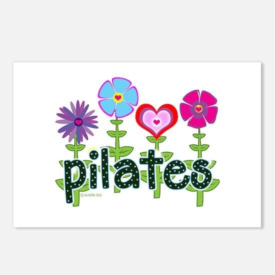 Pilates Garden by Svelte.biz Postcards (Package of