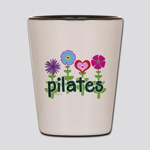 Pilates Garden by Svelte.biz Shot Glass