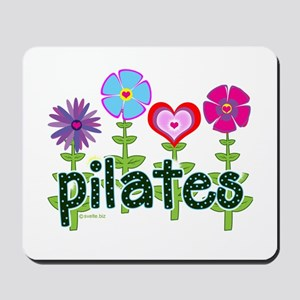 Pilates Garden by Svelte.biz Mousepad