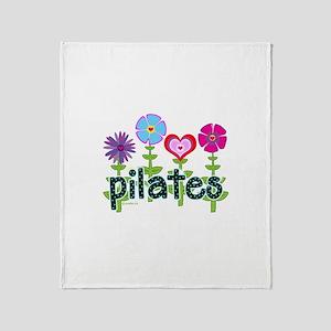 Pilates Garden by Svelte.biz Throw Blanket