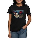 Occupy Wall St Bullhorn Women's Dark T-Shirt