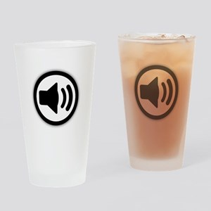 Audio Speaker Drinking Glass