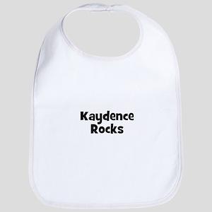 Kaydence Rocks Bib