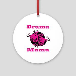 Drama Mama Ornament (Round)