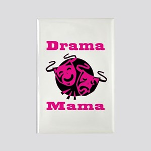 Drama Mama Rectangle Magnet