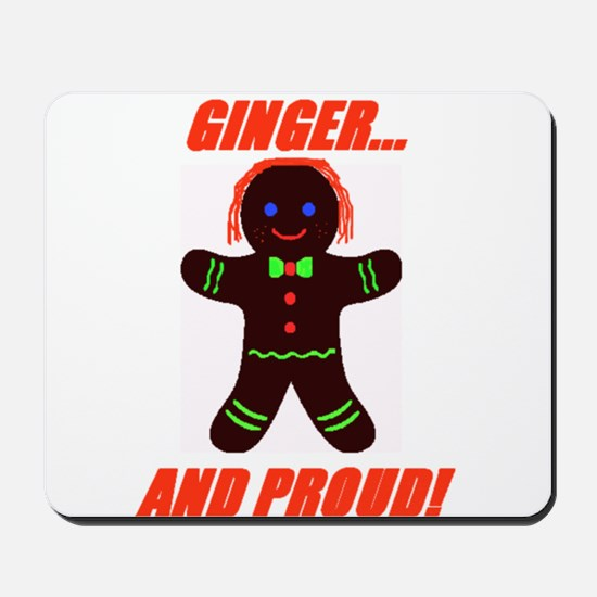 Ginger Pride Mousepad