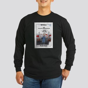 """Chinese Drilling 2"" Long Sleeve Dark T-Shirt"
