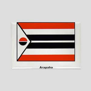 Arapaho Native American Flag Rectangle Magnet