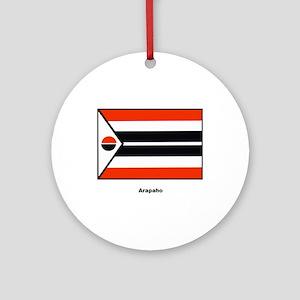 Arapaho Native American Flag Ornament (Round)