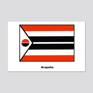 Arapaho Native American Flag Mini Poster Print