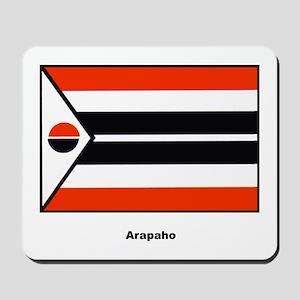 Arapaho Native American Flag Mousepad