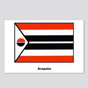 Arapaho Native American Flag Postcards (Package of