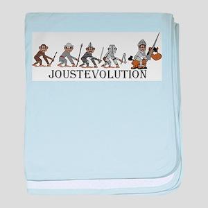 JoustEvolution Monkeys baby blanket
