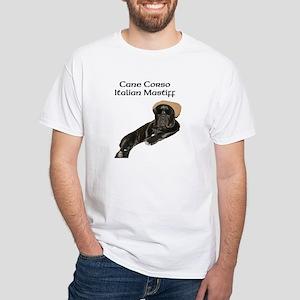 Cane Corso Italian Mastiff White T-Shirt