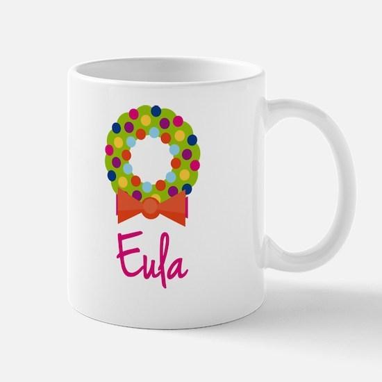 Christmas Wreath Eula Mug