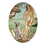 Venus - Yellow Lab #7 Ornament (Oval)