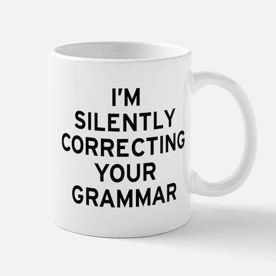 I'm Correcting Small Mugs