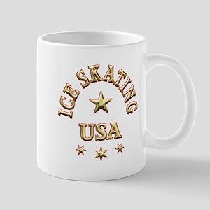 Ice Skating USA Mug