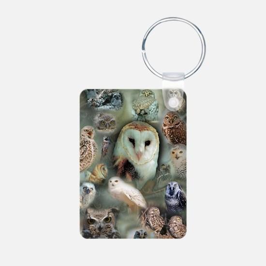 Happy Owls Keychains