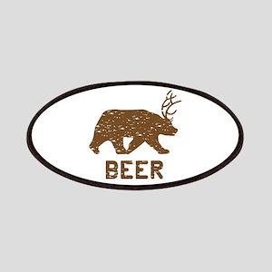 Bear + Deer = Beer Patches