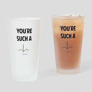 QT Drinking Glass