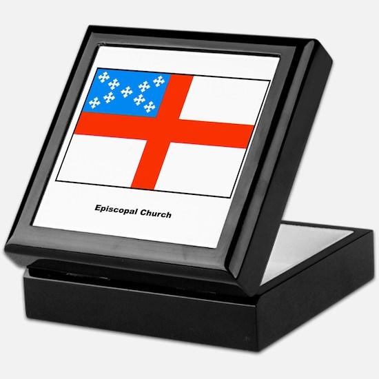 Episcopal Church Flag Keepsake Box