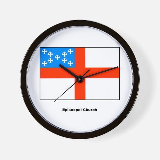 Episcopal Church Flag Wall Clock