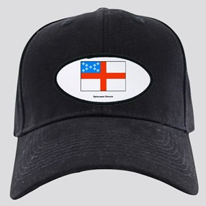 Episcopal Church Flag Black Cap