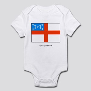 Episcopal Church Flag Infant Creeper