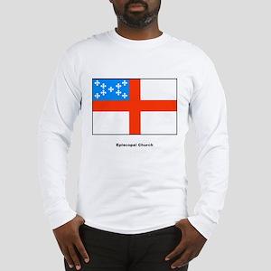 Episcopal Church Flag (Front) Long Sleeve T-Shirt