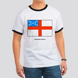 Episcopal Church Flag (Front) Ringer T