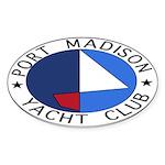 PMYC Logo Sticker (Oval 50 pk)