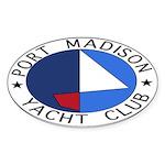 PMYC Logo Sticker (Oval)
