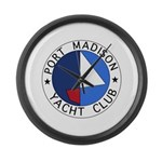 PMYC Logo Large Wall Clock