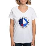 PMYC Logo Women's V-Neck T-Shirt
