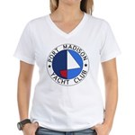 PMYC Logo Women's V-Neck T-Shirt