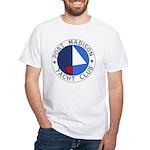 PMYC Logo White T-Shirt