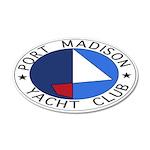 PMYC Logo 22x14 Oval Wall Peel