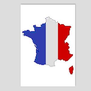"""Pixel France"" Postcards (Package of 8)"