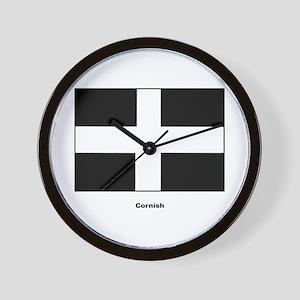 Cornish Cornwall Flag Wall Clock