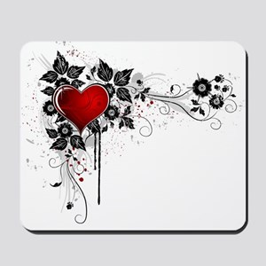 Cool Mousepad with heart