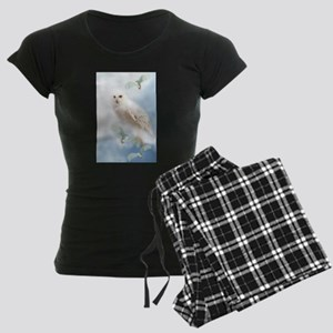 Snowy Owl Women's Dark Pajamas