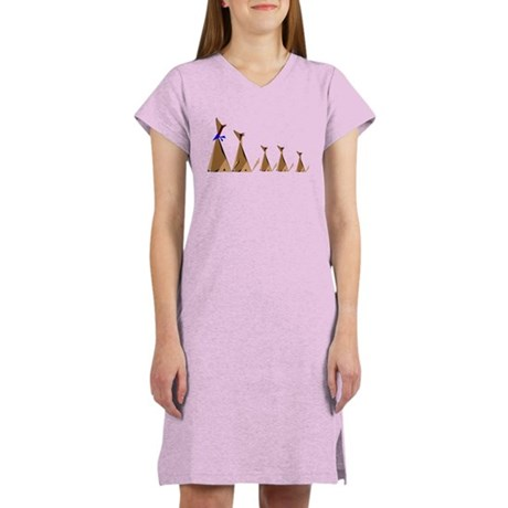 Coyote Family Women's Nightshirt