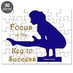 Gymnastics Puzzle - Focus