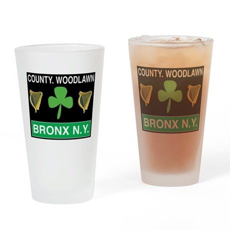 County Woodlawn Drinking Glass