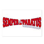 Semper Paratus (Ver 2) Postcards (Package of 8)