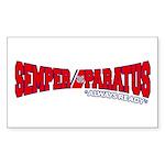 Semper Paratus (Ver 2) Sticker (Rectangle)