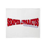 Semper Paratus (Ver 2) Throw Blanket