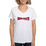 Semper Paratus (Ver 2) Women's V-Neck T-Shirt