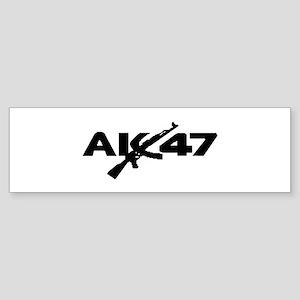 AK 47 Sticker (Bumper)